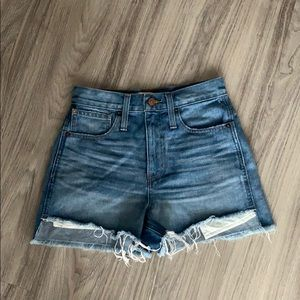 The Perfect Jean Short Step-Hem Edition